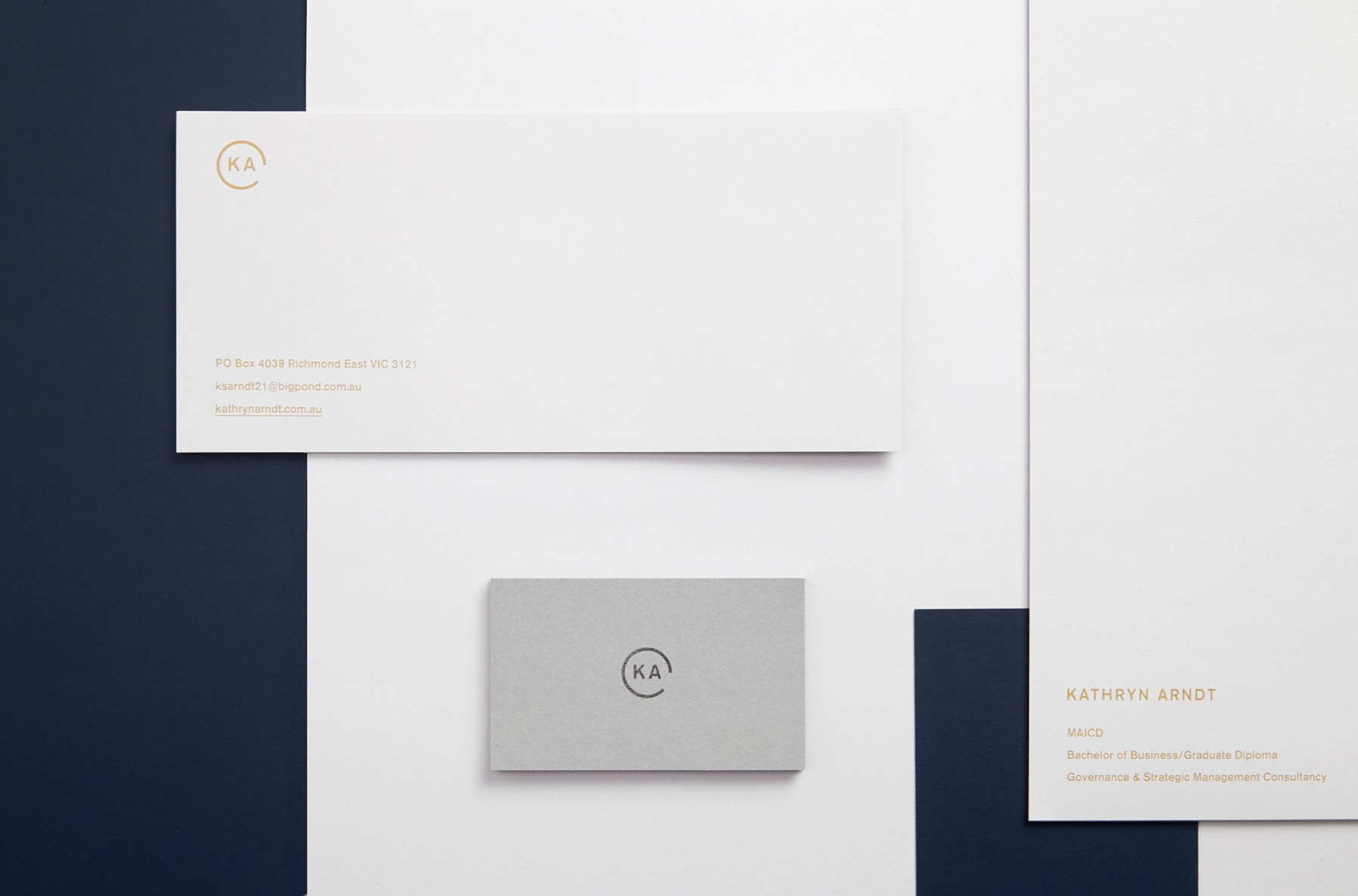 kathryn arndt corporate consultant branding design