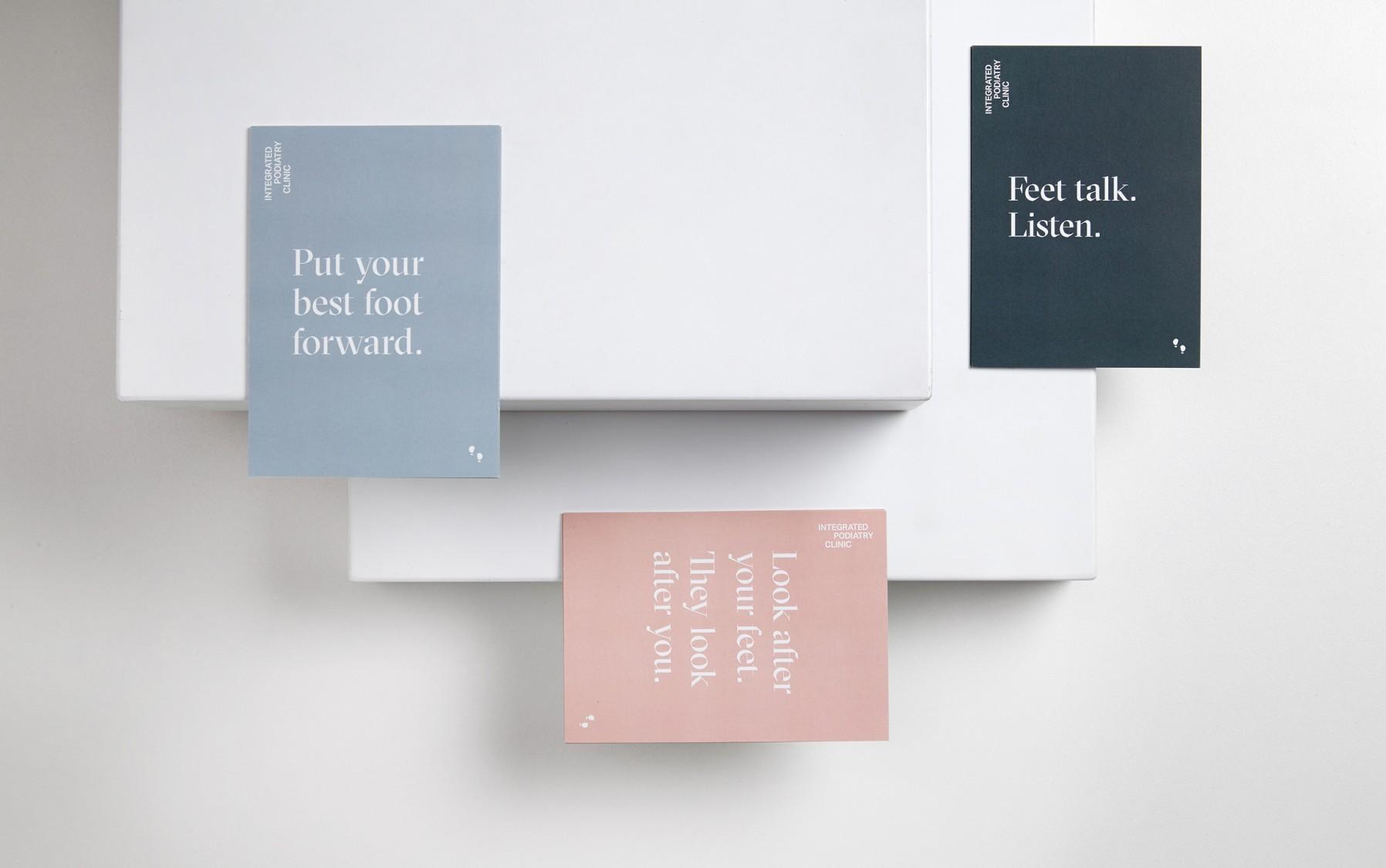integrated podiatry branding design
