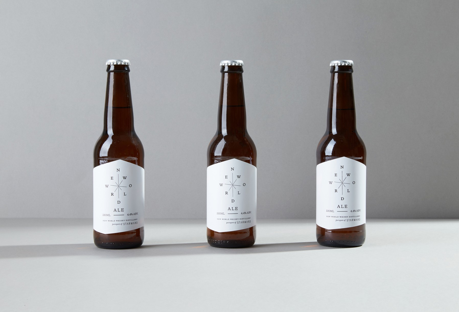 starward beer label design melbourne
