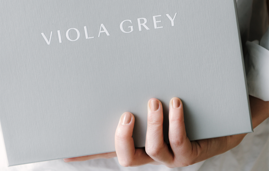 JAC&, Branding, Viola Grey, Sleepwear, fashion, identity, packaging