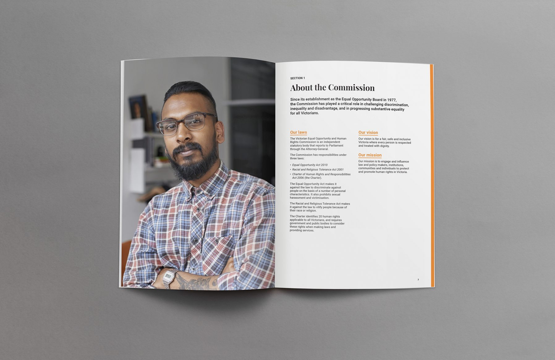 Annual report design Melbourne document publication layout print