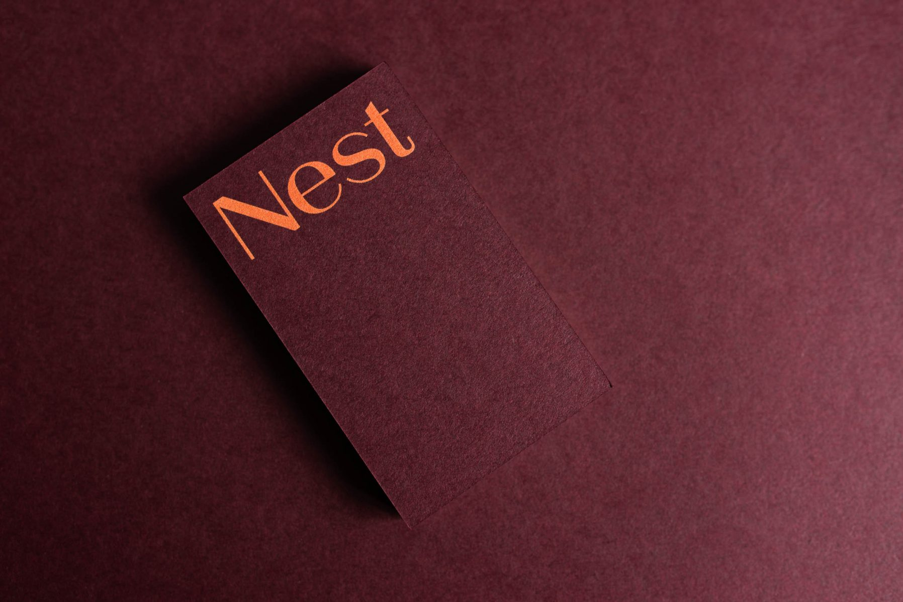 Nest Architects Branding Identity Melbourne JAC& Collingwood Designer Graphic Design